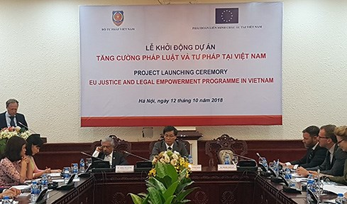 EU-supported justice, legal empowerment programme launched hinh anh 1