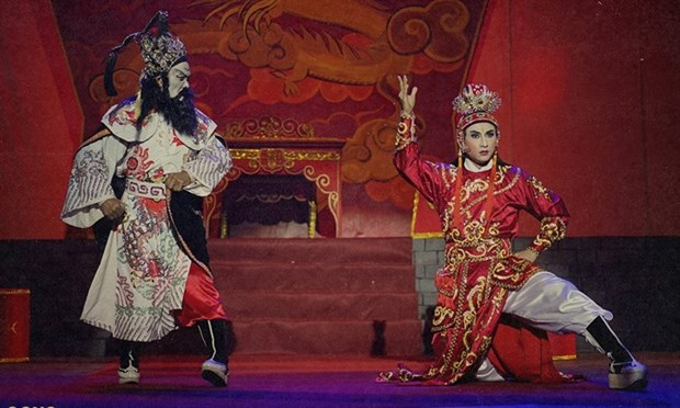 """Film on """"cai luong"""" to compete in Tokyo International Film Festival hinh anh 1"""
