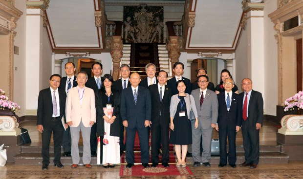 HCM City promotes people-to-people diplomacy with Japan hinh anh 1