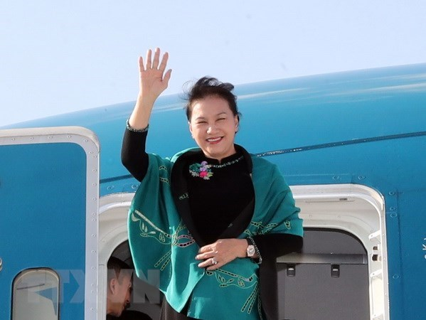 NA Chairwoman wraps up trip to attend MSEAP 3, Turkey visit hinh anh 1