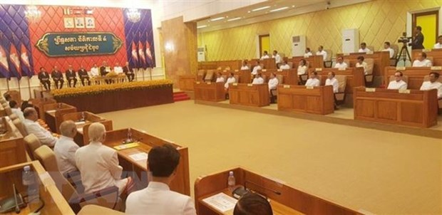 Cambodian Senate elects new First Vice President hinh anh 1