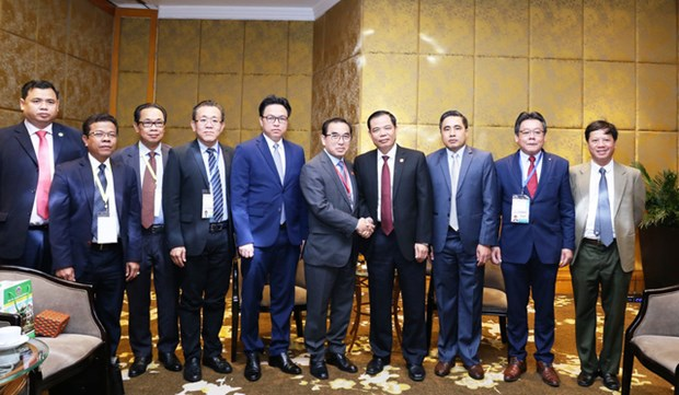 Vietnam, Cambodia to enhance agro-forestry-fishery cooperation hinh anh 1