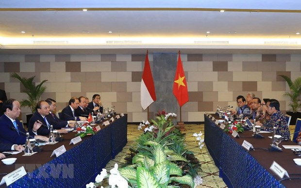 Vietnam, Indonesia aim for breakthroughs in economic ties hinh anh 1