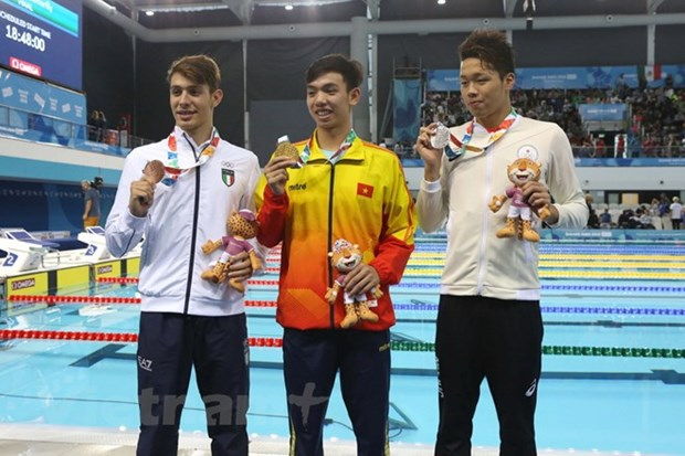2018 Youth Olympics: Swimmer brings home second gold medal hinh anh 1