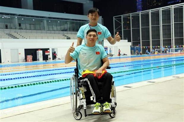 Vietnam earns four more medals on 2018 Asian Para Games' fifth day hinh anh 1