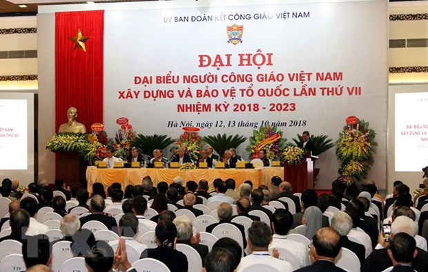 National congress of Vietnamese Catholics opens in Hanoi hinh anh 1