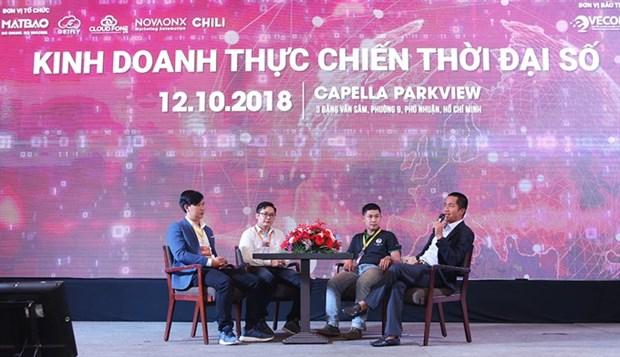 Digital platforms key to business success hinh anh 1