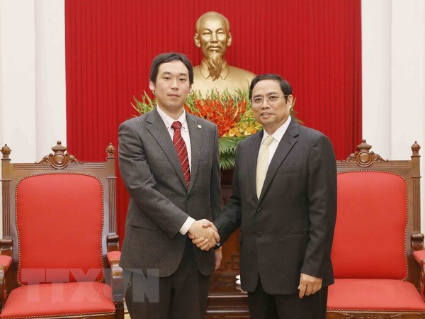 Japanese Communist Party delegation visits Vietnam hinh anh 1