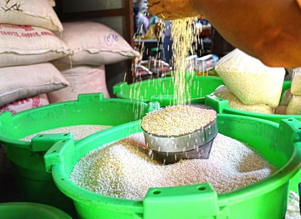 Myanmar exports over 1 million tonnes of rice in fiscal transition period hinh anh 1