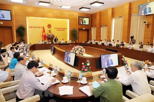 NA Standing Committee convenes 28th session hinh anh 1