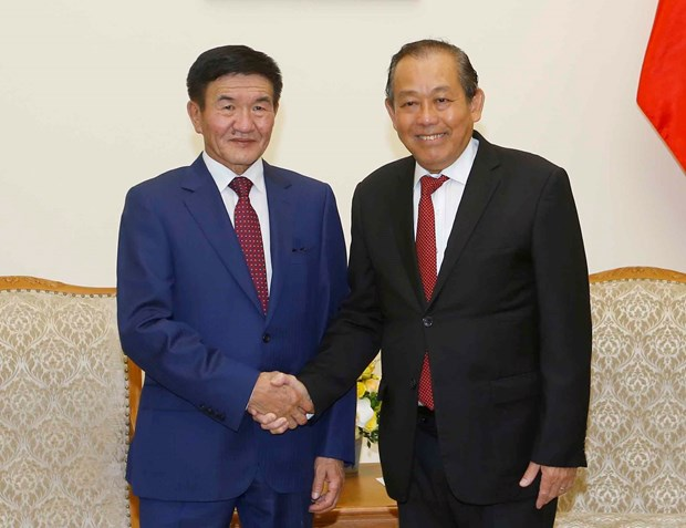 Deputy PM calls for stronger Vietnam-Mongolia ties across multiple fields hinh anh 1