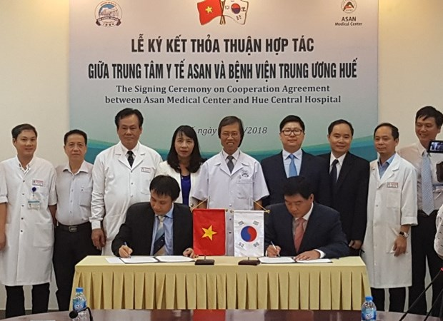 Hue hospital, RoK's medical centre cooperate in liver transplant hinh anh 1