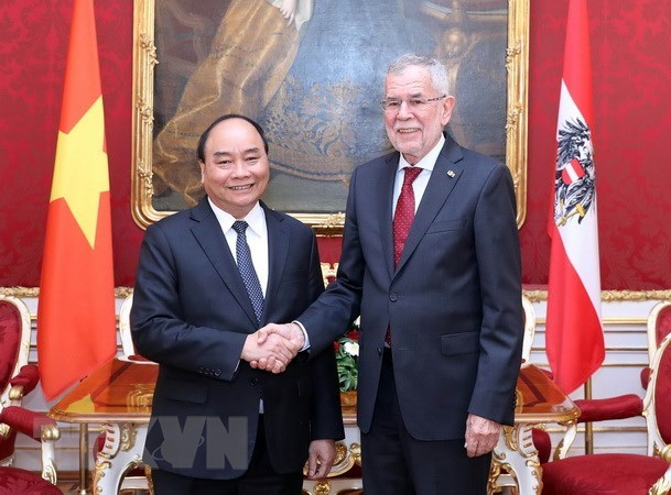 Austria treasures ties with Vietnam: Austrian President hinh anh 1