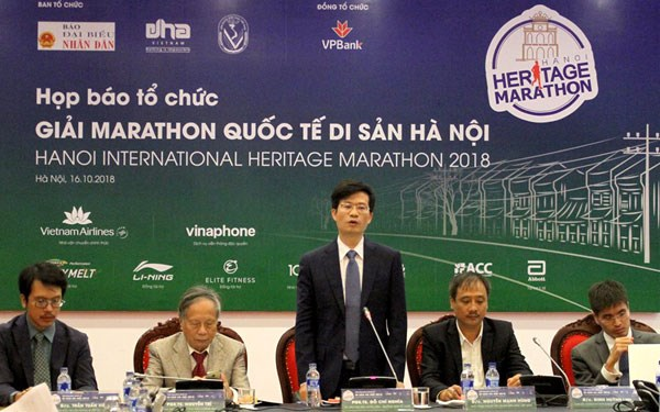 Over 2,500 athletes to run at Hanoi International Heritage Marathon hinh anh 1