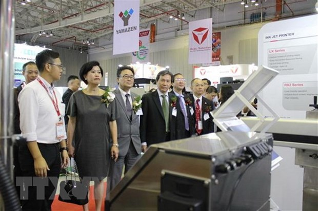 Int'l precision engineering, machinery exhibition to open in Hanoi hinh anh 1