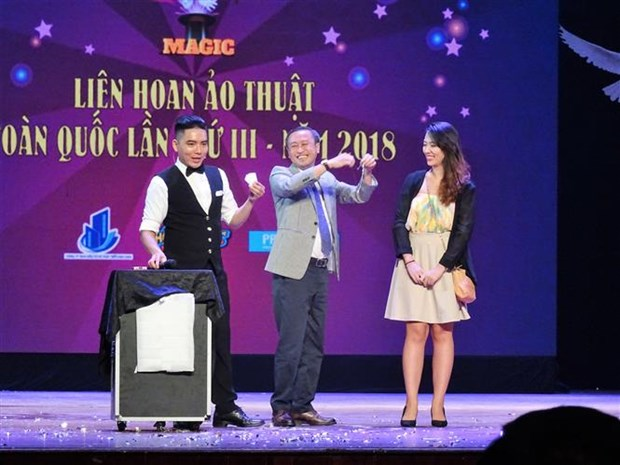 National Magic Festival 2018 wraps up hinh anh 1