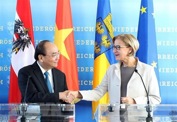 PM hails Lower Austria's role in Vietnam-Austria ties hinh anh 1