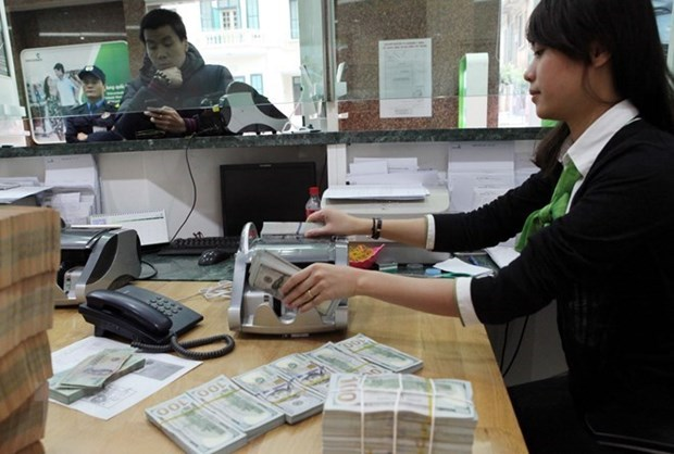 Reference exchange rate drops by another 2 VND hinh anh 1