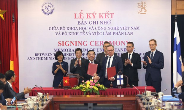 Vietnam, Finland step up science-technology-innovation cooperation hinh anh 1