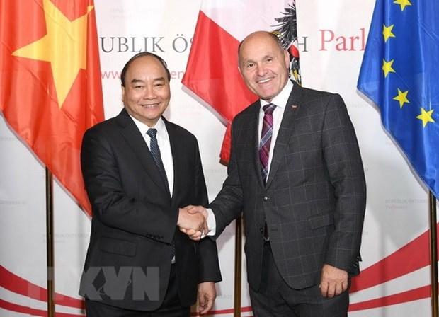 PM: Vietnam regards Austria as important, reliable partner hinh anh 1