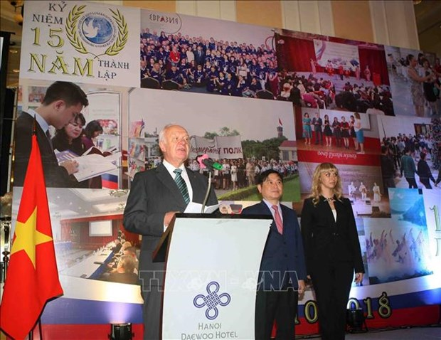 15 years of Russian science, culture centre marked hinh anh 1