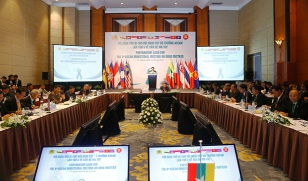 ASEAN countries intensify cooperation in war on drugs hinh anh 1