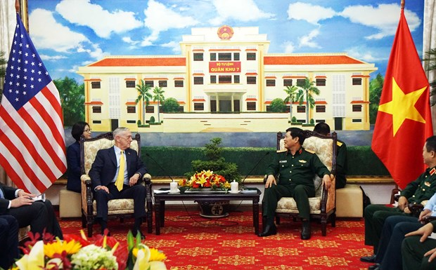 Vietnam, US vow to enhance cooperation in dioxin treatment hinh anh 1