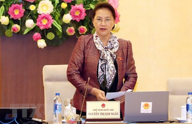 NA Standing Committee's 28th session closes hinh anh 1
