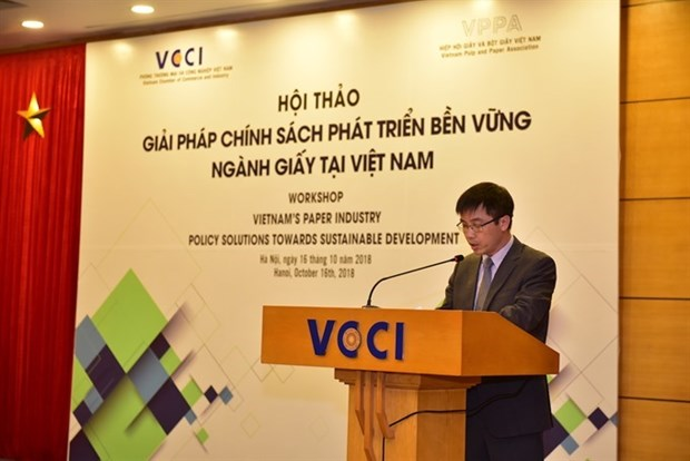 Experts: Vietnam holds huge potential to develop paper industry hinh anh 1