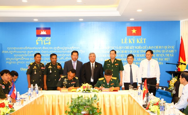 Binh Duong, Cambodia's localities step up cooperation hinh anh 1