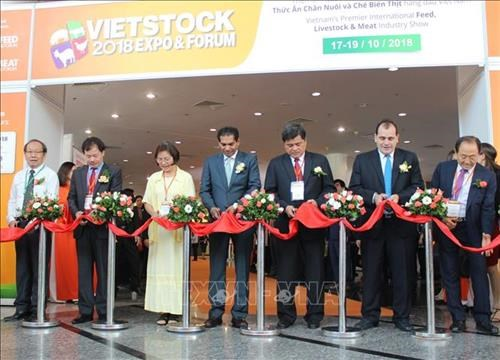 Vietnam's biggest livestock trade show opens in HCM City hinh anh 1