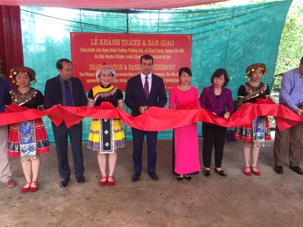 Azerbaijan helps build school in mountainous province hinh anh 1