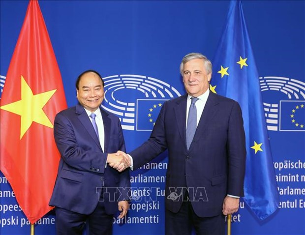 Vietnam, EU show efforts to soon put EVFTA in place hinh anh 1