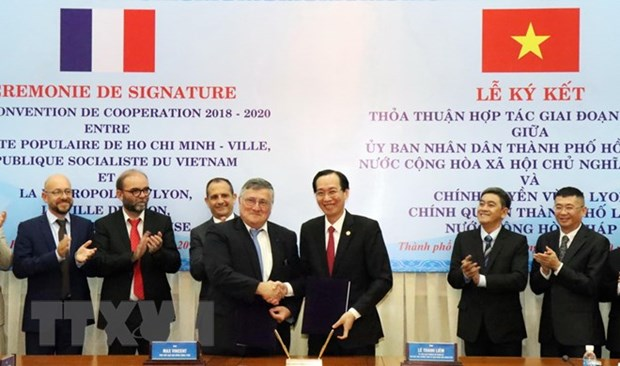 Ho Chi Minh City bolsters collaboration with France's Lyon hinh anh 1