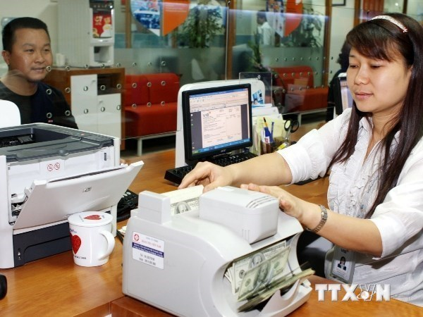 Reference exchange rate goes up on October 18 hinh anh 1