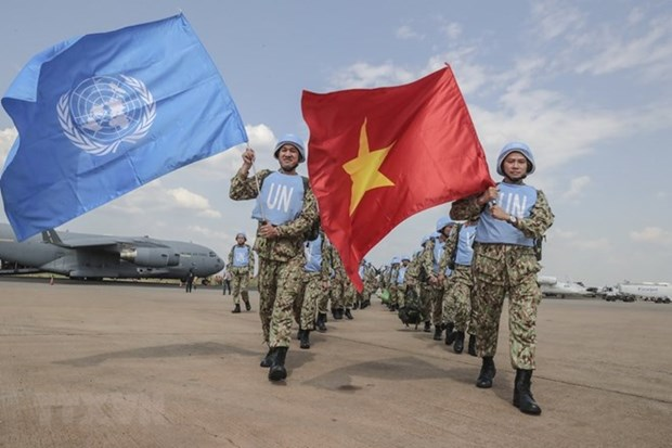 Vietnam's peacekeeping mission in South Sudan grabs int'l headlines hinh anh 1