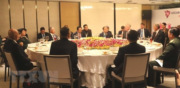 ASEAN steps up defence cooperation with US, China hinh anh 1