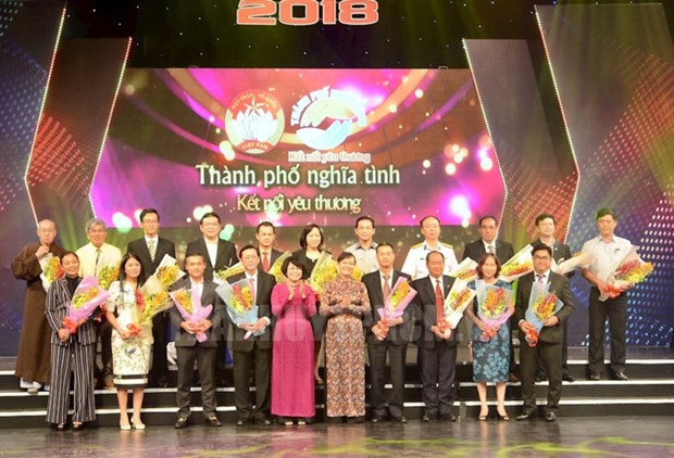 Ho Chi Minh City raises nearly 40 bln VND for the poor hinh anh 1