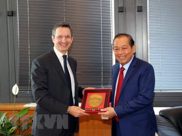 Vietnam, Italy seek to promote judicial cooperation hinh anh 1