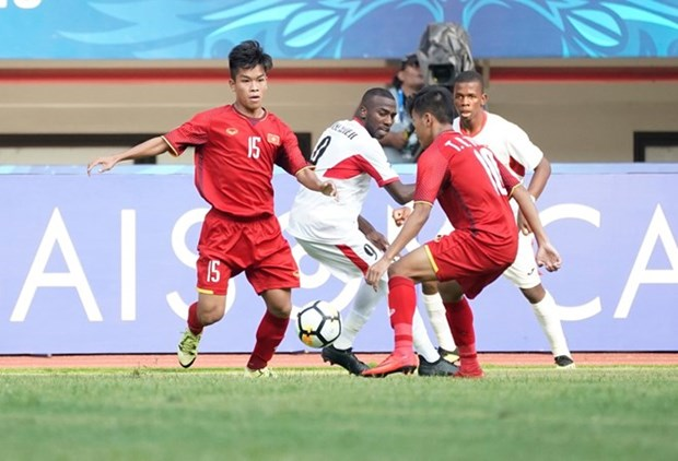 Vietnam lose to Jordan 1-2 at AFC U19 champs hinh anh 1