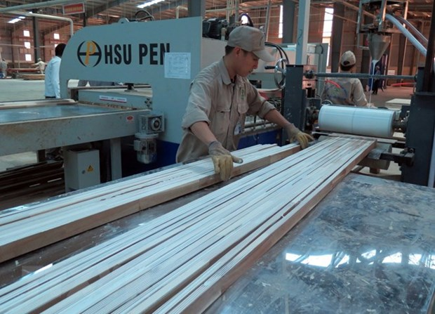 Vietnam's wood export expands nearly 16 pct in 9 months hinh anh 1