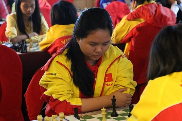 HCM City girl wins world junior chess champs hinh anh 1