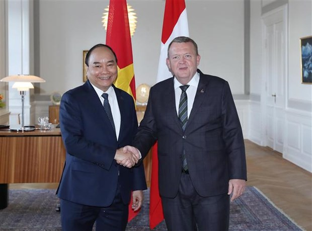 PM Phuc concludes P4G summit, official visit to Denmark hinh anh 1