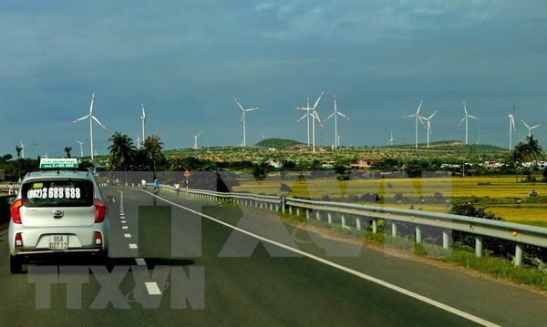 Ninh Thuan to have four new wind power plants by year-end hinh anh 1