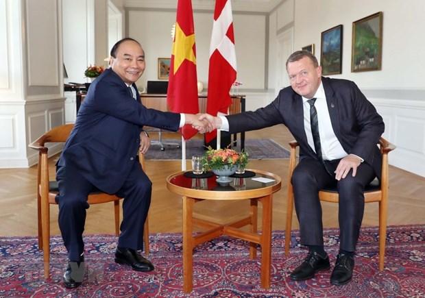 Vietnam, Denmark issue joint statement hinh anh 1