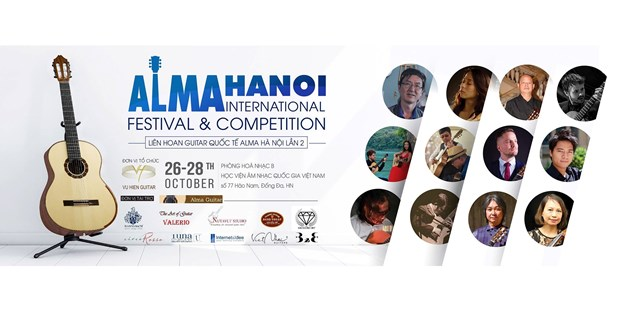 Alma Hanoi Int'l Festival to take place this weekend hinh anh 1