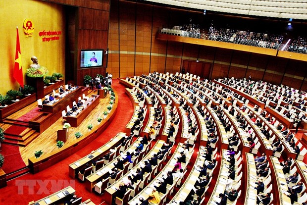 NA scrutinises socio-economic situation on first working day of 6th session hinh anh 1