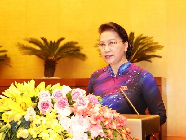 Sixth session of 14th National Assembly opens hinh anh 1