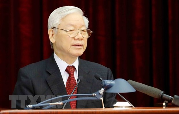 Party chief recommended for NA to vote as State President hinh anh 1