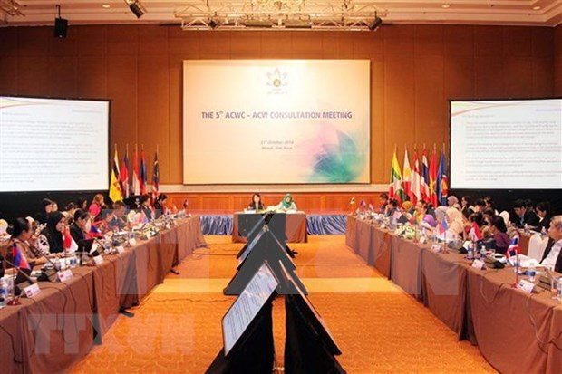 ASEAN discusses regional cooperation in gender equality hinh anh 1